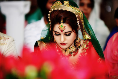 Sikh Bride Indian Wedding Photographer Gurdwara Atlanta