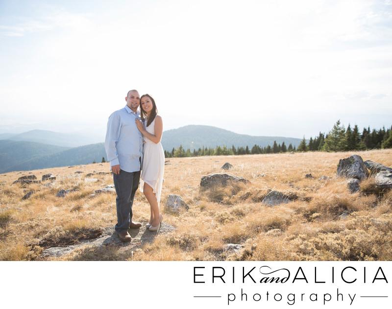 mount spokane view engagement