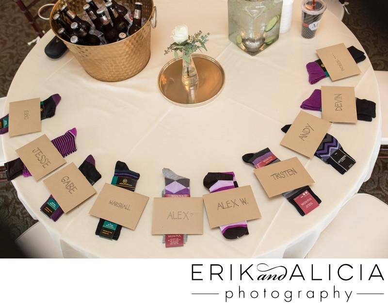 groomsmen gift argyle socks