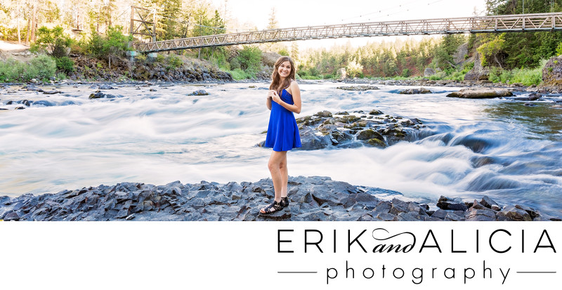 long exposure spokane river bowl and pitcher hs senior