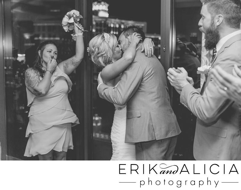 Vegas first kiss crazy bridesmaid