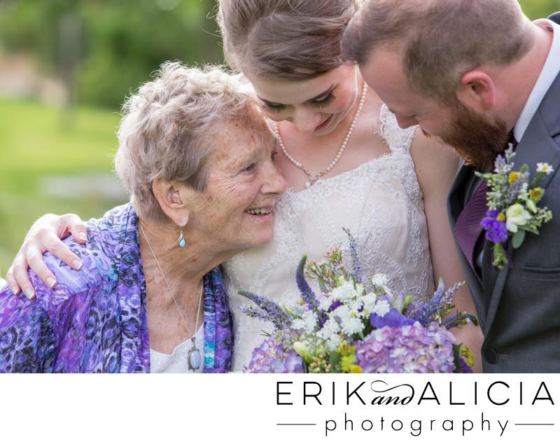 Grandma is important on wedding day