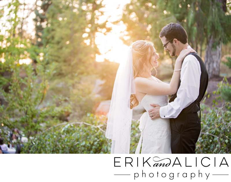 sunset embrace at blue woods venue