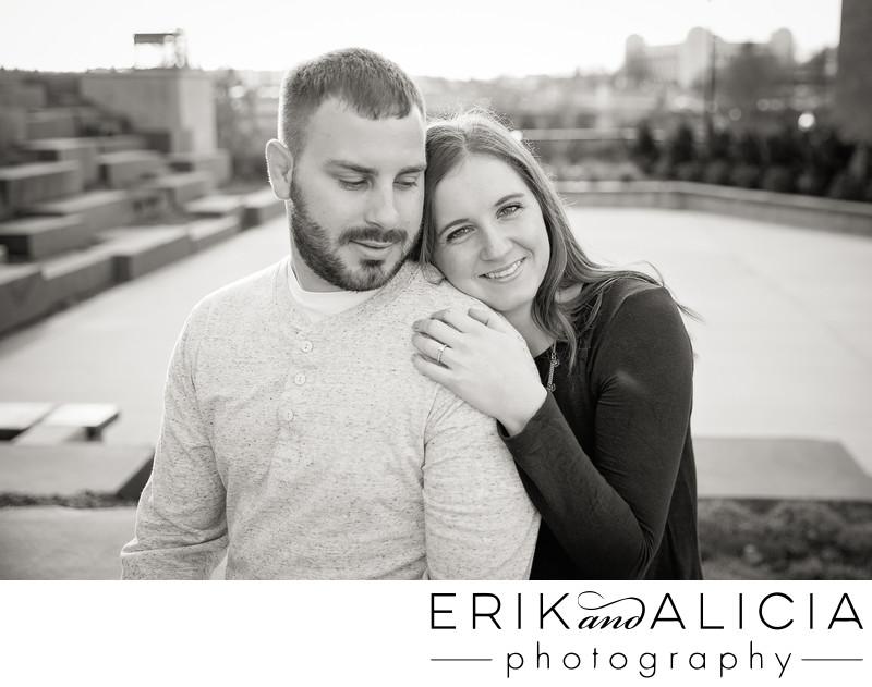 Huntington Park Spokane engagement photography