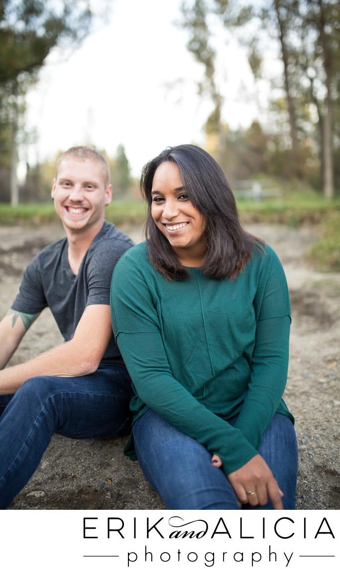 being us together at little spokane river park