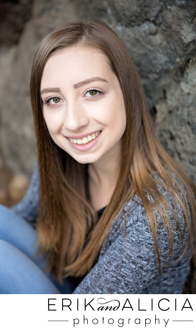 senior photos at manito park spokane