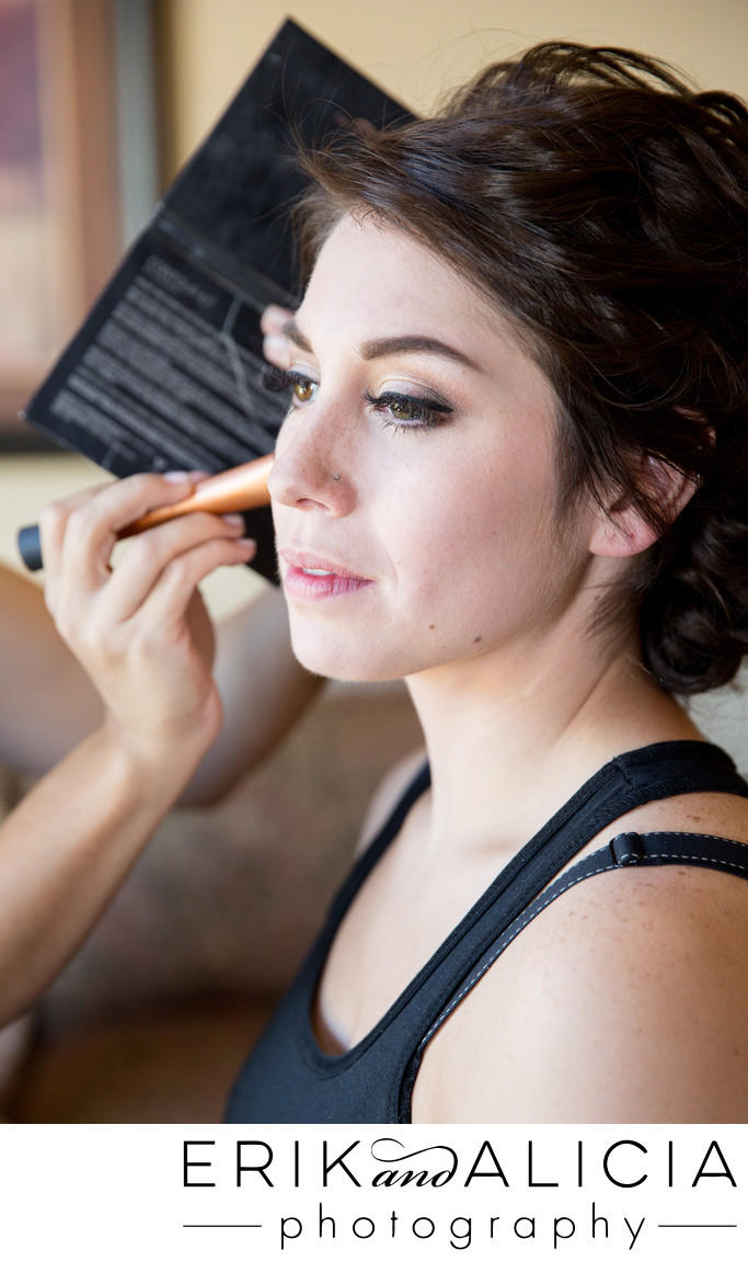 simple bridal makeup by Makeup by Alyssa Walsh