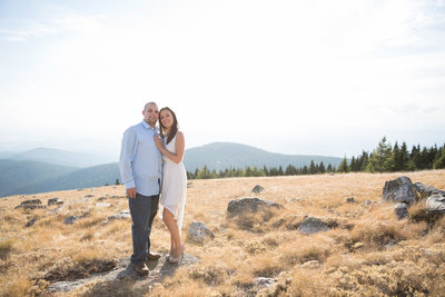 mount spokane view engagement