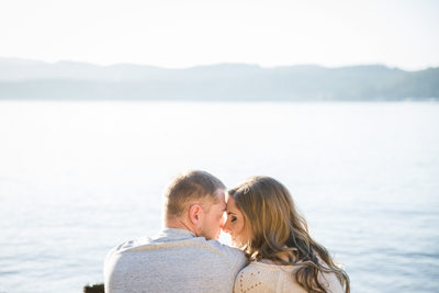 coeur darlene lake view intimate engagement