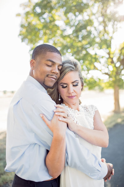 makeup by alyssa walsh engagement embrace