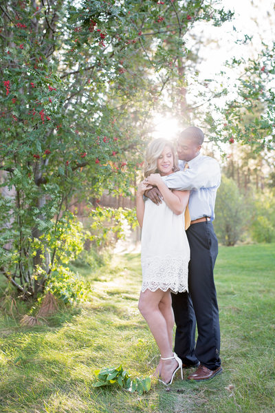 sun glow engagement embrace gorgeous
