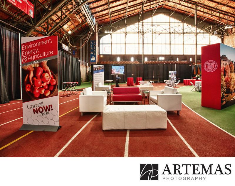 Cornell University Barton Hall Indoor Track Event Now