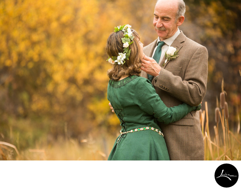 Pictures of older couples getting married in Montana