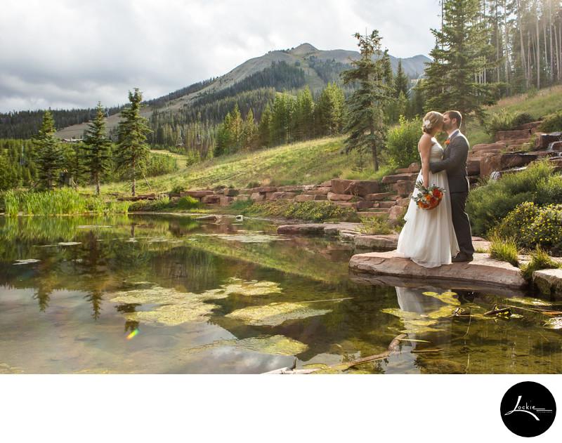 Stunning Montana wedding photos from Big Sky Montana