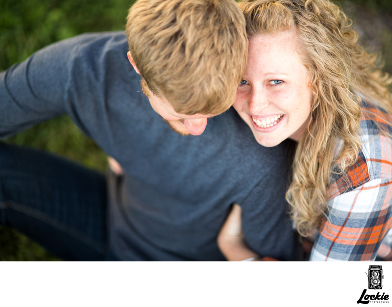 Engagement photographers in Montana