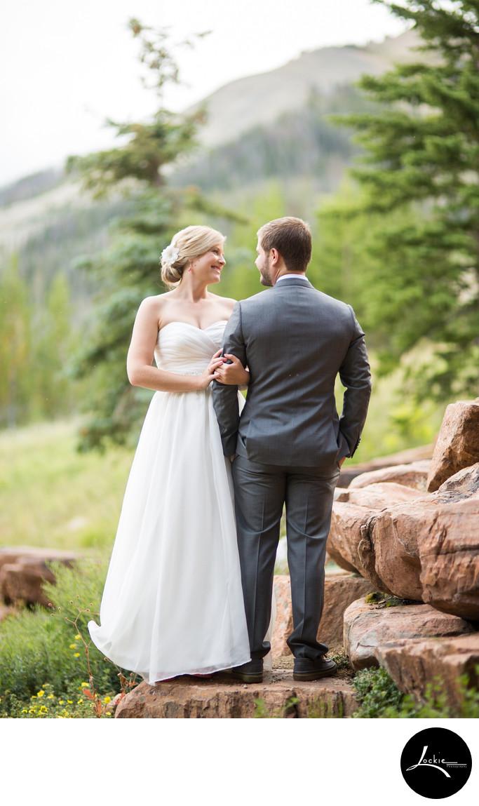 Bride And Groom Portraits Wedding Photographers Montana