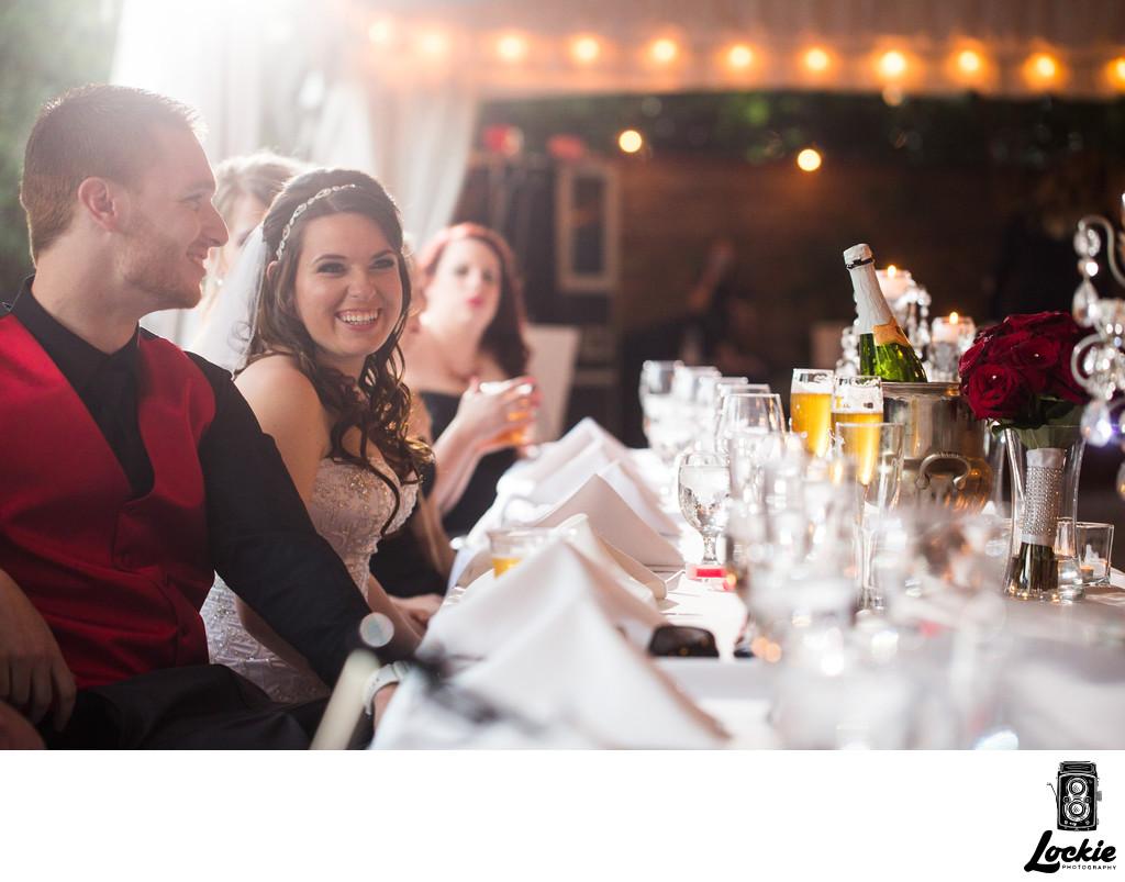 Superior Montana Wedding Photographers 4 Pictures Wedding Toasts Stonebridge Manor Reception
