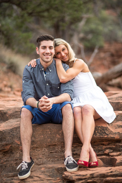 Engagement Photographers in Sedona Arizona