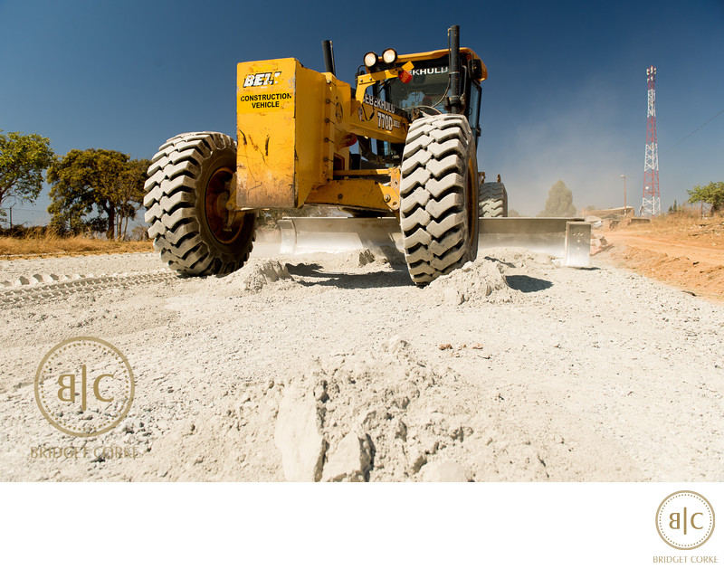 Corporate Road Construction Photographer South Africa