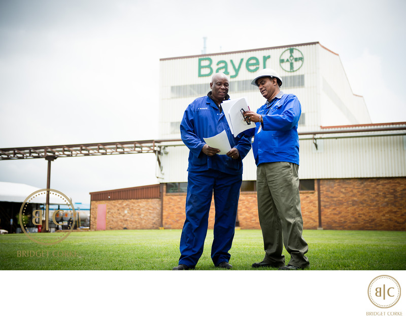 Bayer Nigel Plant Corporate Photographer