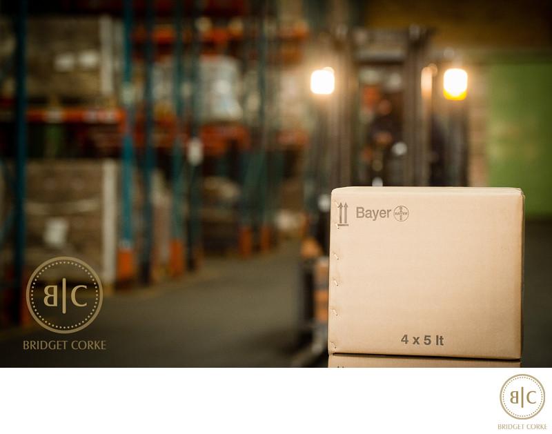 Bayer Warehouse Corporate Photography