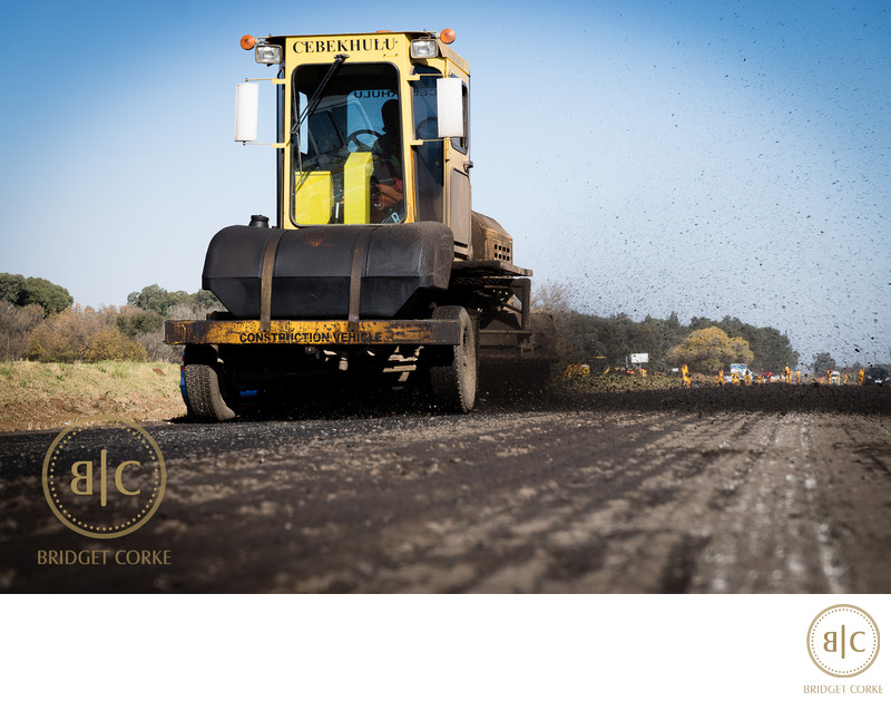 Construction Location Vehicle Corporate Photographer
