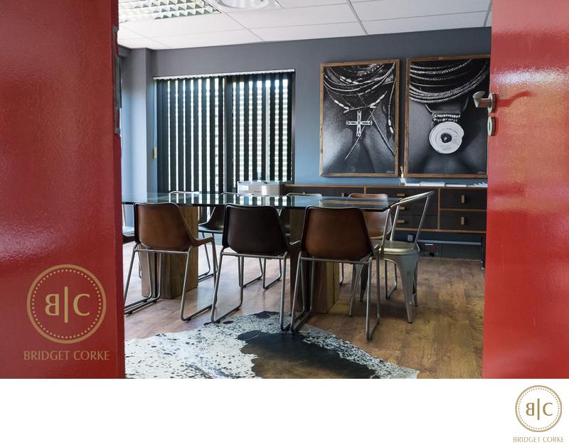 Boardroom Interiro Photography Johannesburg