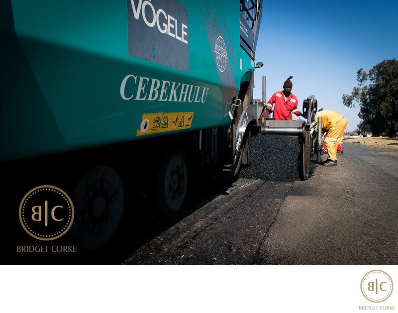Road Construction Johannesburg Photographer