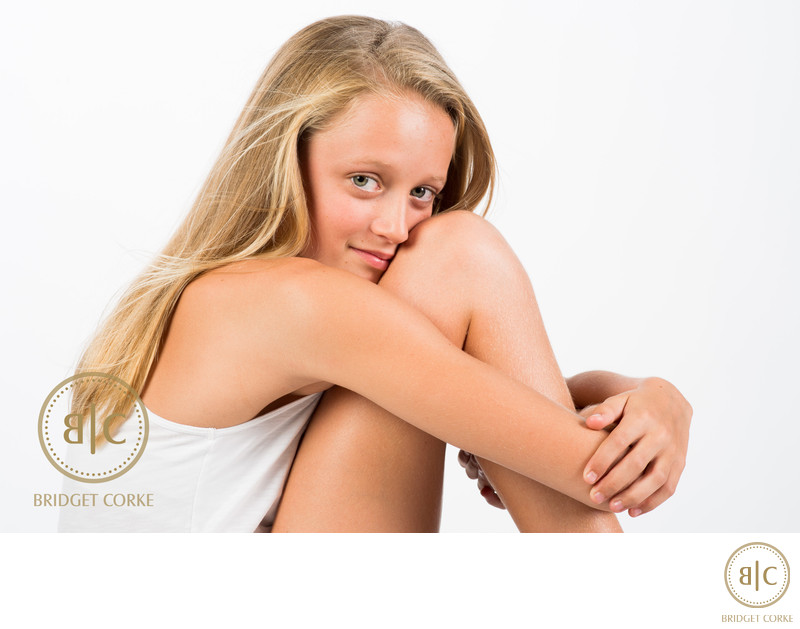 Young Teenager Photographed in Johannesburg Studio