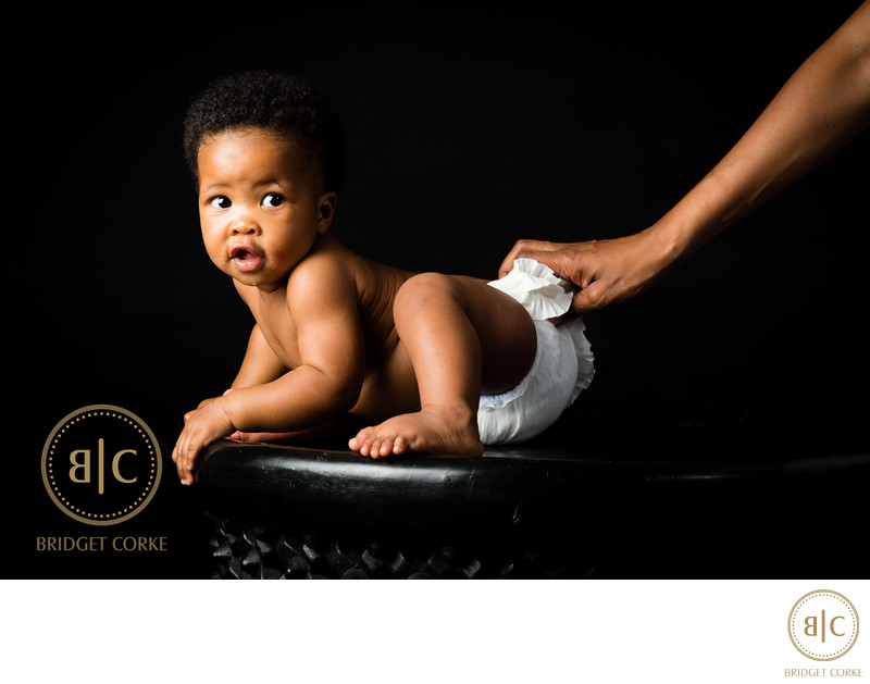 Baby Shoot In Johannesburg Studio