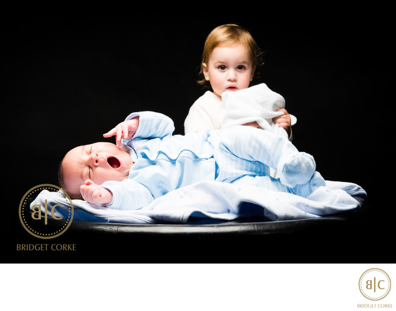 Sibling and Baby Johannesburg Family Studio