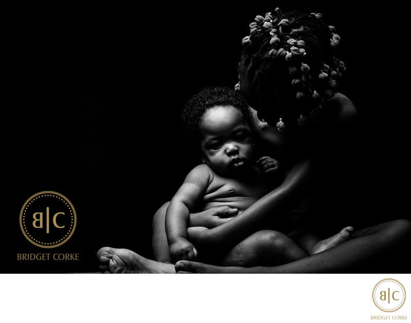 Creative Baby Photographed in Johannesburg Studio