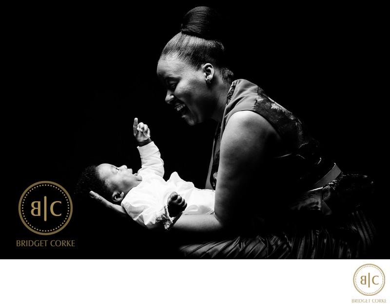 Baby Moment Captured in Johannesburg Studio