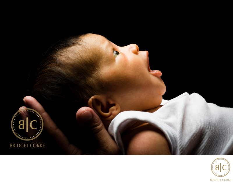 Newborn Photographed in Johannesburg Studio