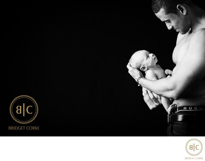 Moments Captured in Johannesburg Studio with Newborn