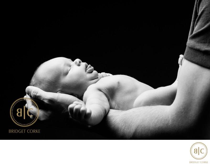 A Newborn Moment Captured in Johannesburg Studio