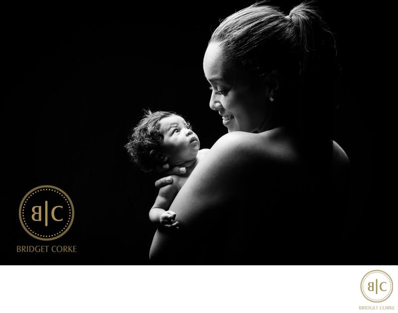 Leanne Dlamini Captured in Newborn Shoot Johannesburg