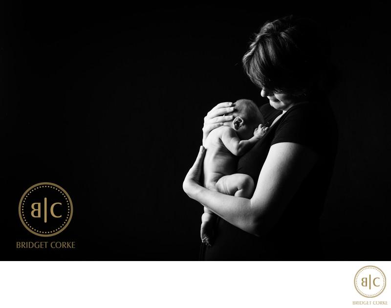 Tender Newborn Moment In Johannesburg Studio