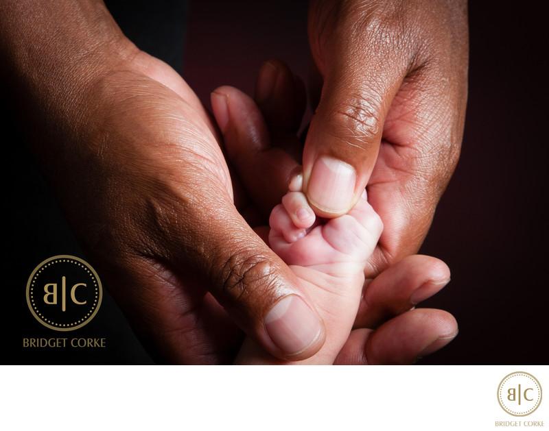 Newborn Hand Photograph by Bridget Corke