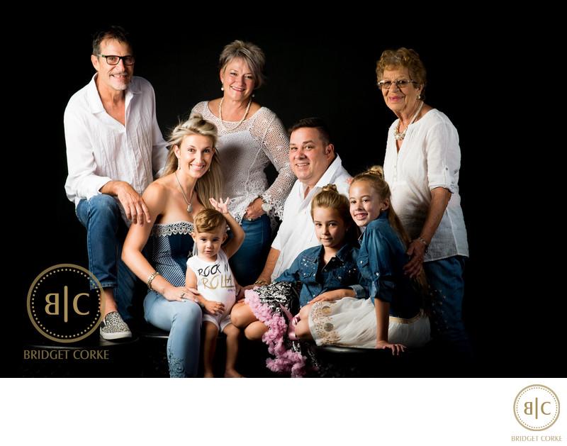 Extended Studio Family Shoot by Bridget Corke