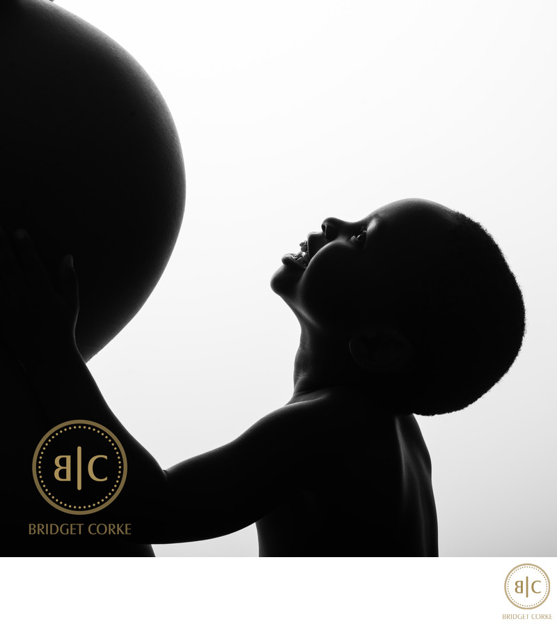 Silhoutte Pregnancy Photograph