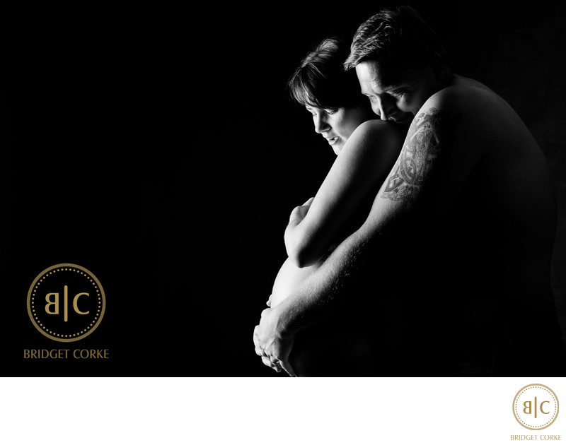 Coupled Photographed in Maternity Shoot