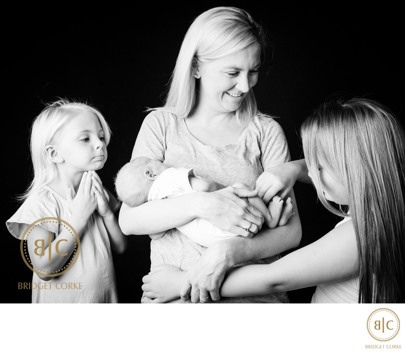 Family Shoot in Professional Photographic Studio