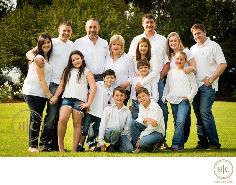 Karan Family Photographed on Location