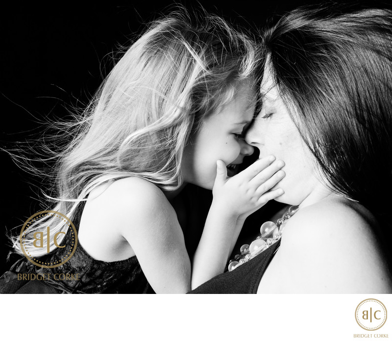 Mother & Daughter Photograph