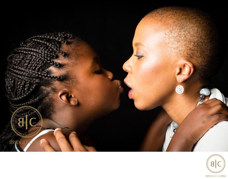 Mother & Daughter Portrait Study Johannesburg