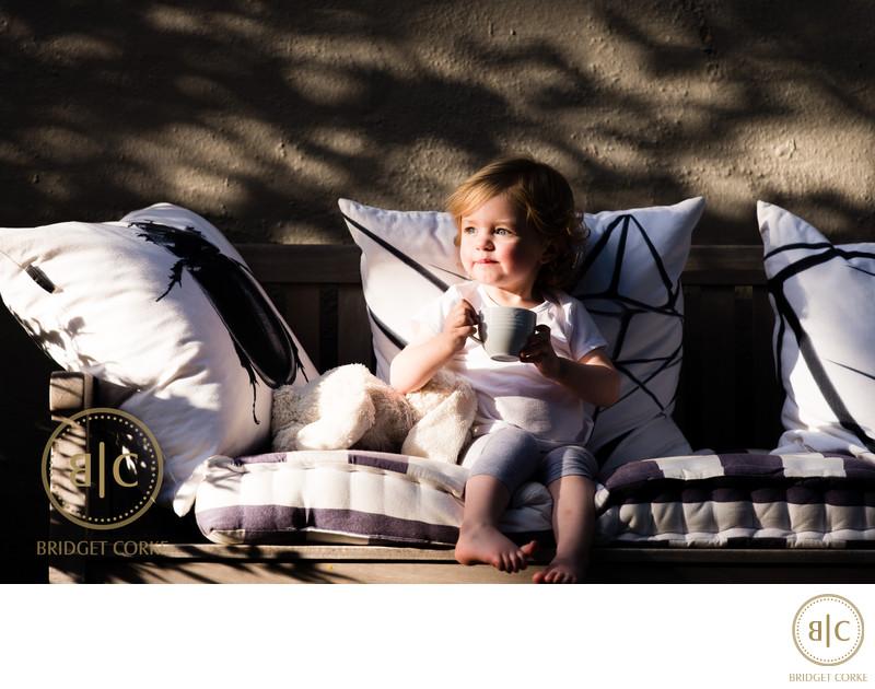 Location Shoot of Johannesburg Toddler