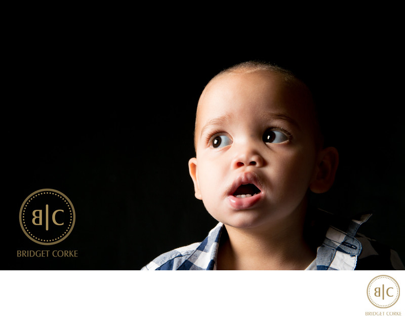 Toddler Photographed in Johannesburg Professional Studio