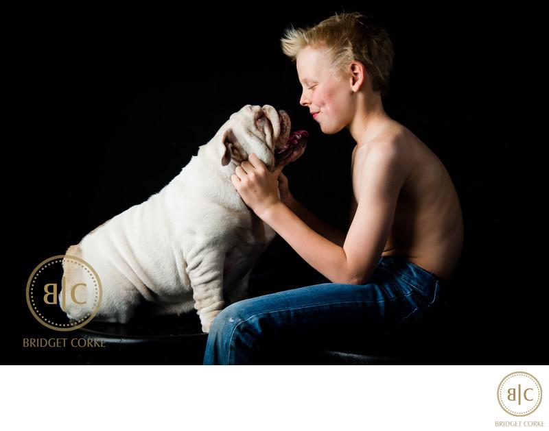 Amazing Johannesburg Studio Bulldog Photographer