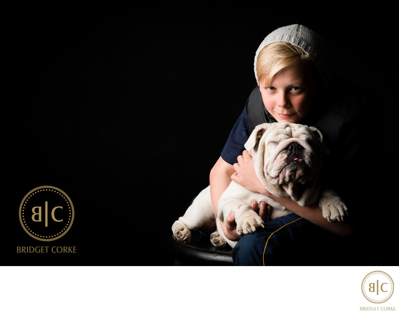 Best Johannesburg Bulldog Studio Pet Photographer